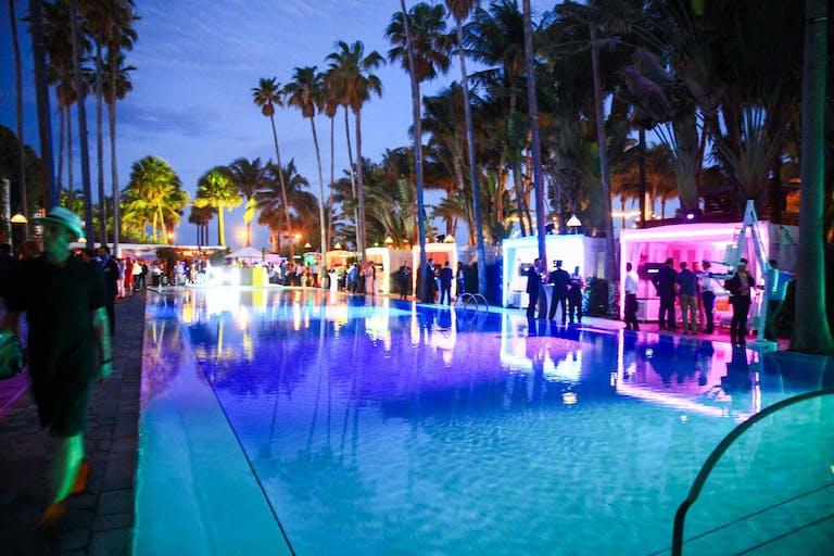 L C H CORPORATE EVENT AT DELANO HOTEL MIAMI BEACH | PartySlate