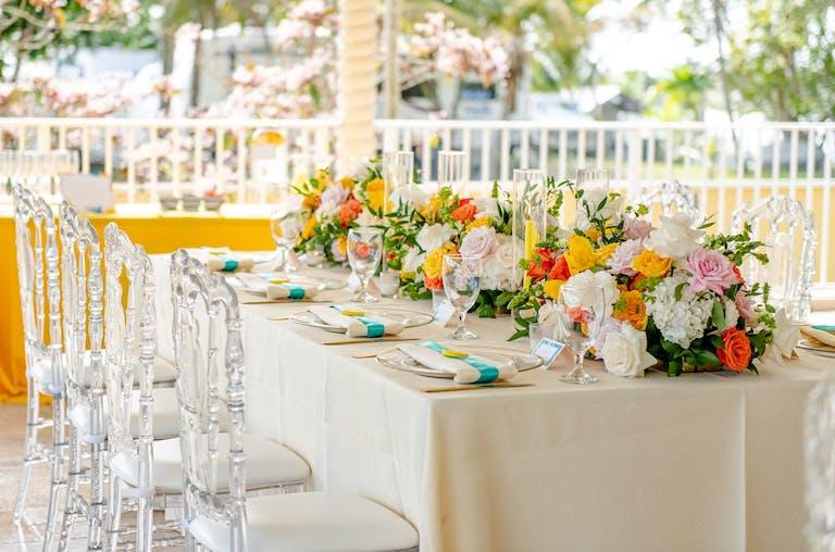 Outdoor Lemon-Themed Bridal Shower | PartySlate