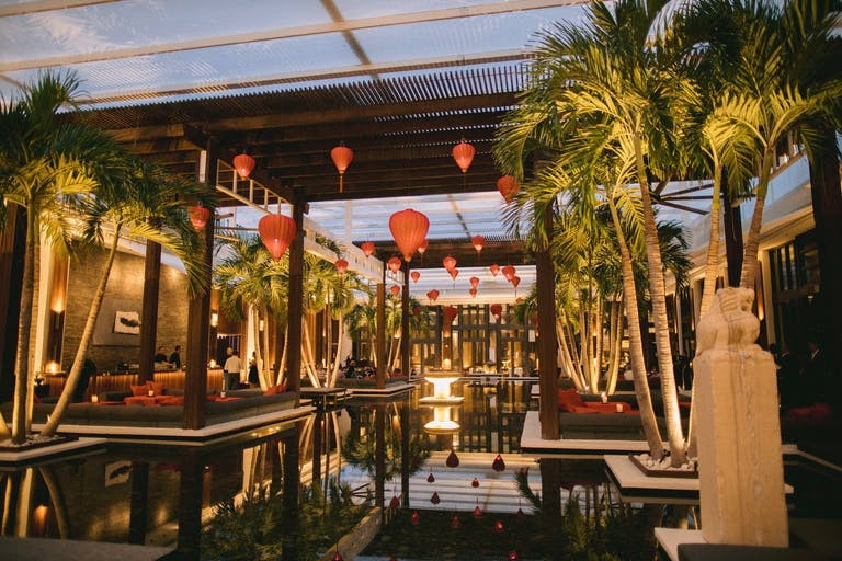 MODERN ASIAN INSPIRED REHEARSAL DINNER AT THE SETAI IN MIAMI BEACH, FLORIDA | PartySlate