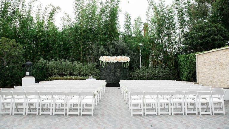 Outdoor Garden Wedding at Mr C Beverly Hills, CA   PartySlate