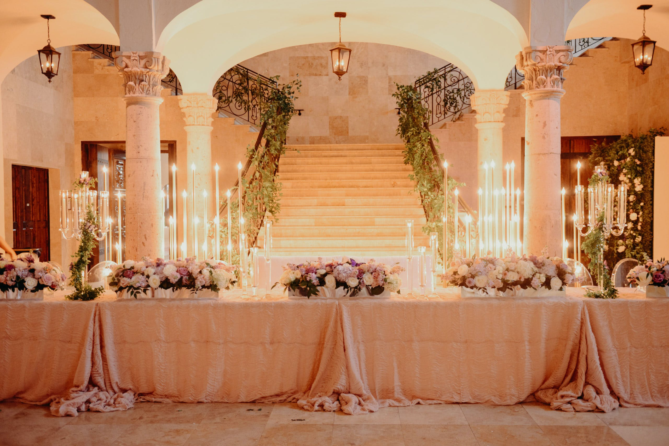 Glamorous Gold Quinceanera in Houston, TX