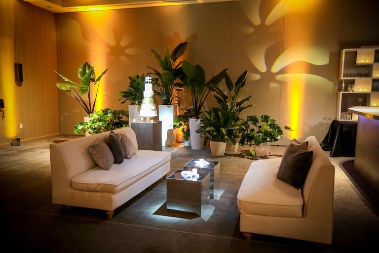 Jillian   Jeremy's Modern Garden Romance at The Miami Beach Edition