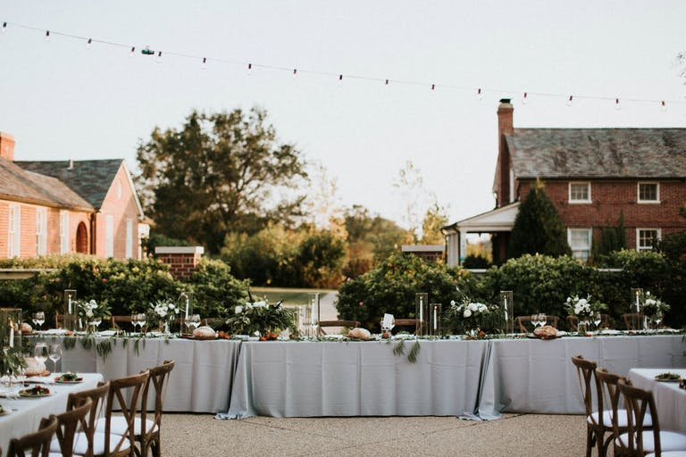 Wedding Reception at Elawa Farm in Lake Forest, IL | PartySlate