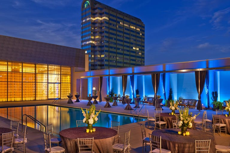 The Westin Galleria Dallas Pool Rooftop Deck   PartySlate