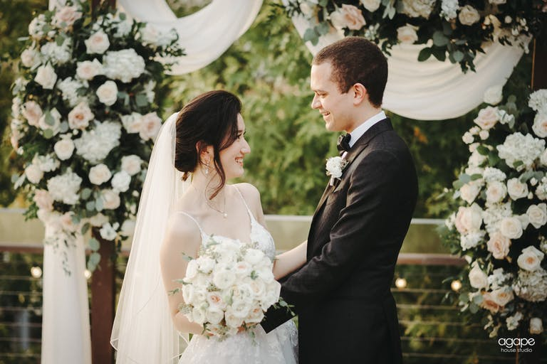 Romantic White Floral Wedding at The Grove Planned by Fabulous Beginnings By Delcina & Co of Houston, TX   PartySlate