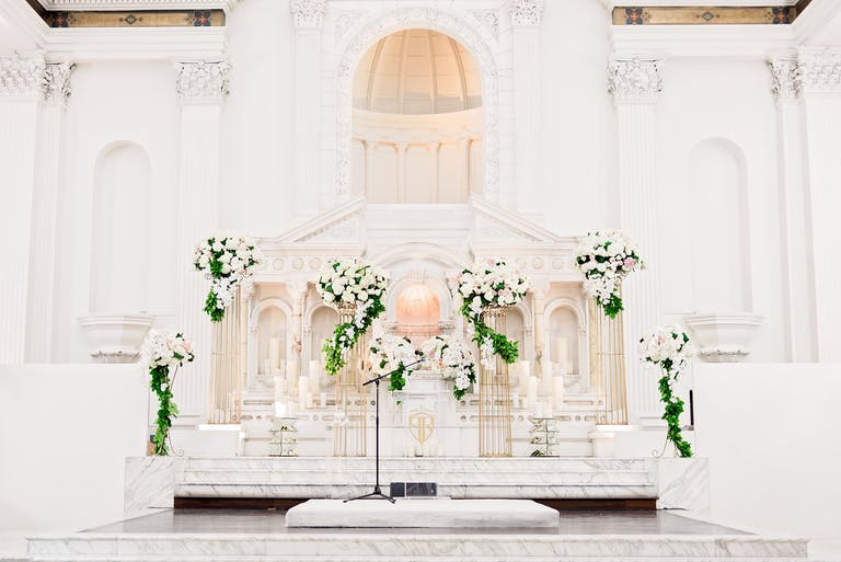 Romantic Blush-Toned Wedding with Greenery Planned by D'Concierge of Houston, TX   PartySlate
