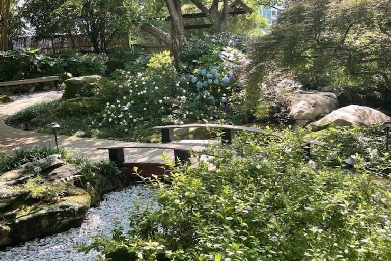 Jananese-Inspired Zen Garden at Grand Hyatt Atlanta in Buckland   PartySlate