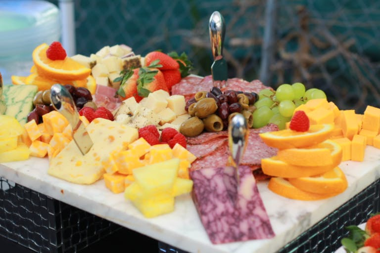 Meat and cheese tray by Nuksy's Fine Catering: Full Service Catering of Houston, TX   PartySlate