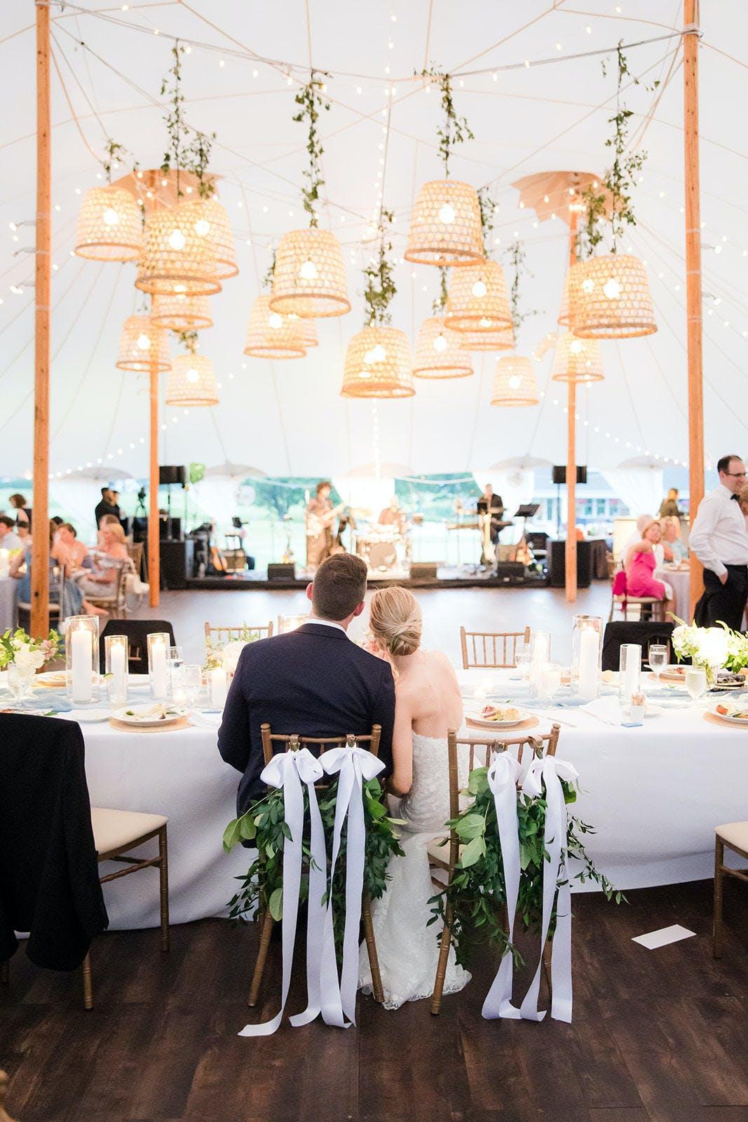 Charming Boho Summer Wedding at Spring Lake Golf Club in New Jersey