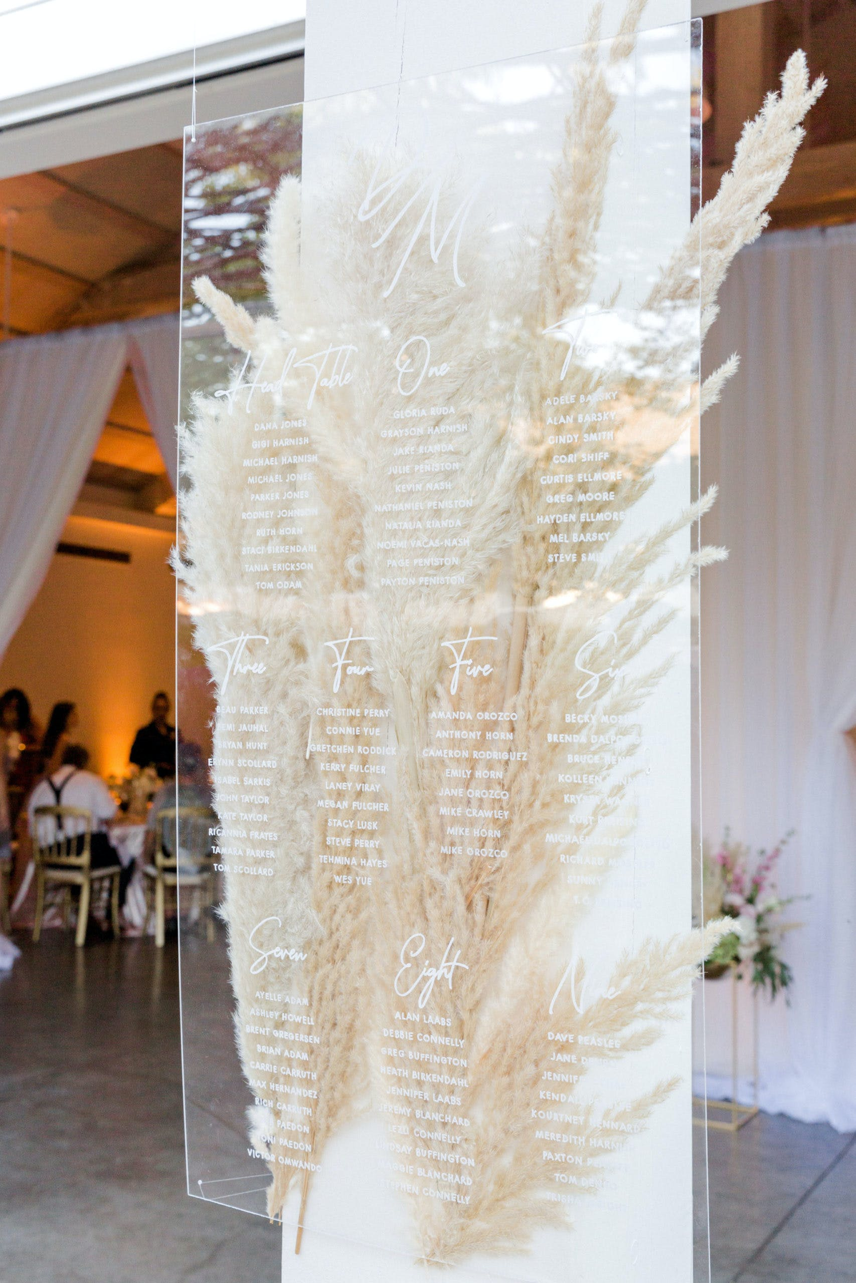 Charming Pink and Ivory Pampas Grass Wedding at Solage, Auberge Resorts Collection in Calistoga, CA