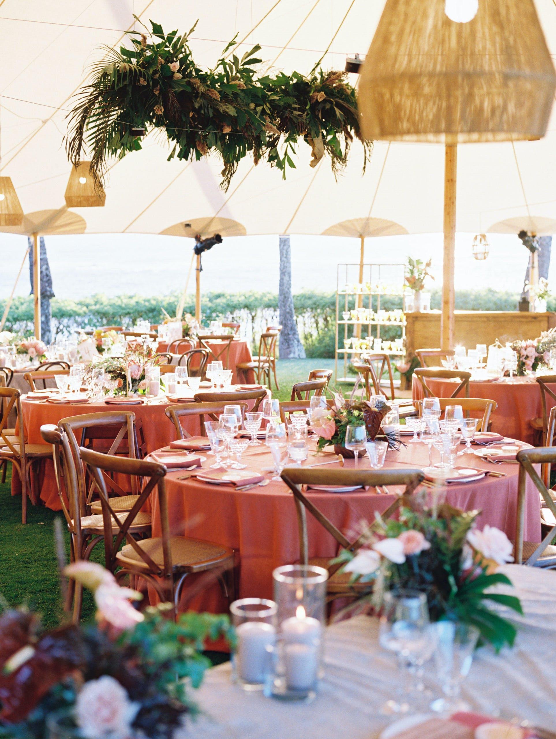 Dreamy Boho Wedding at Montage Kapalua Bay in Kapalua, HI