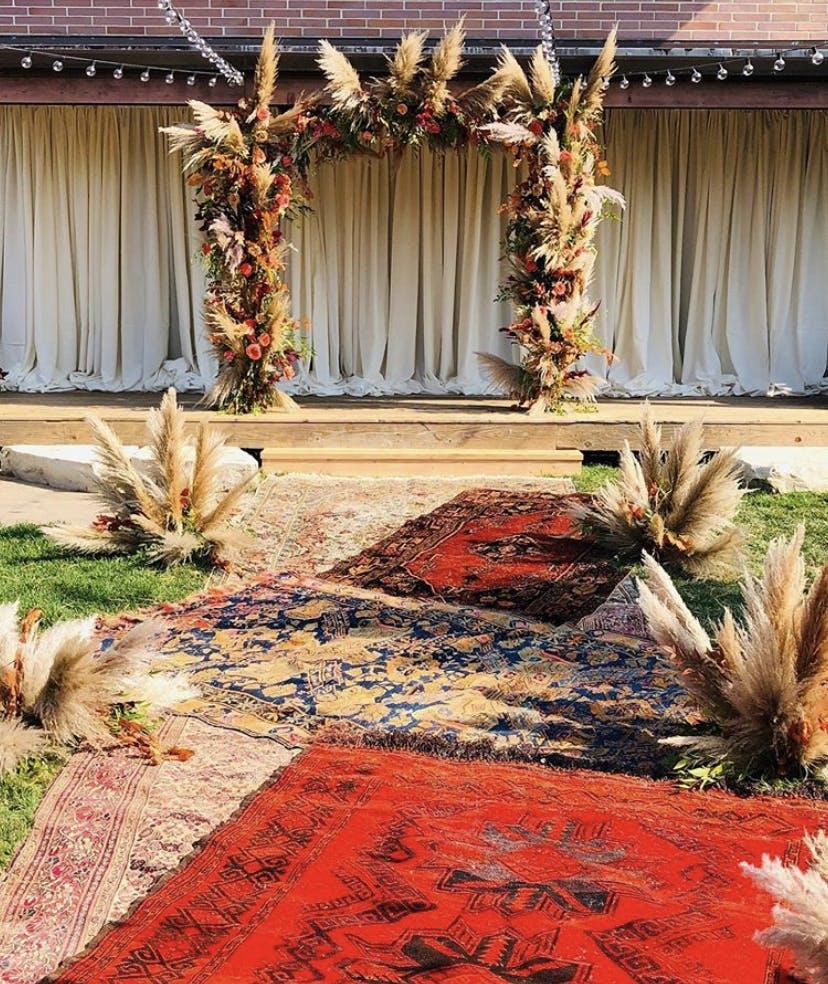 Lush Boho Fall Wedding