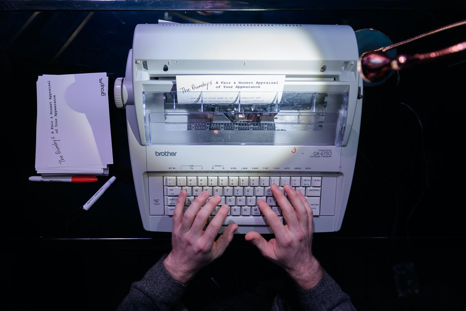 Typewriter for Hire at Corporate Holiday Party | PartySlate