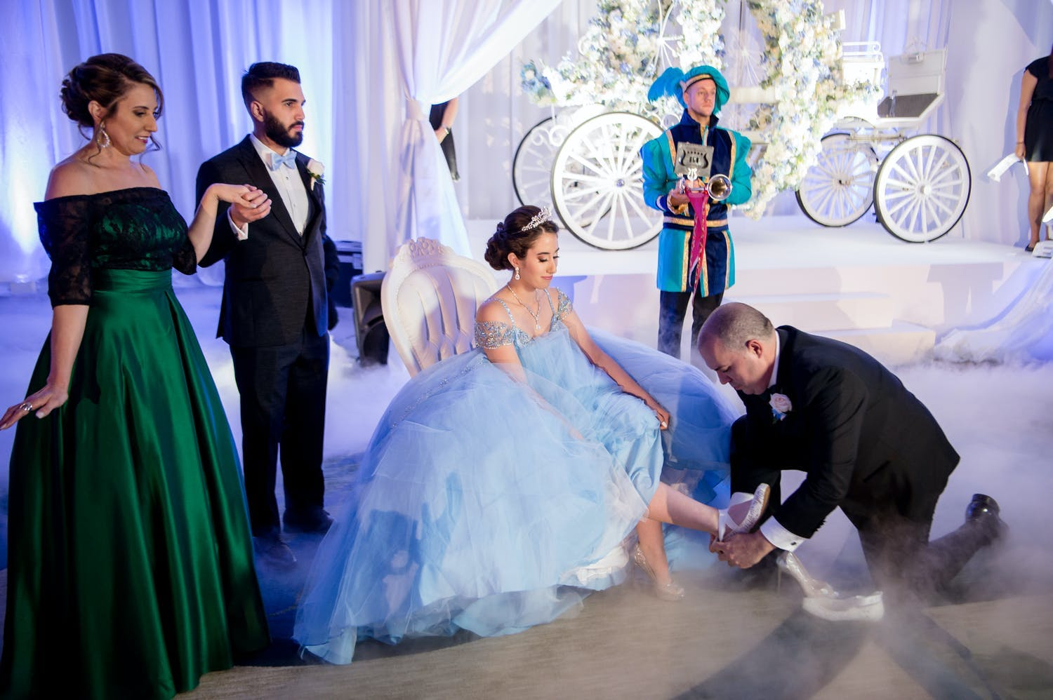 Father changes quinceañera's shoes to represent her transition into adulthood | PartySlate