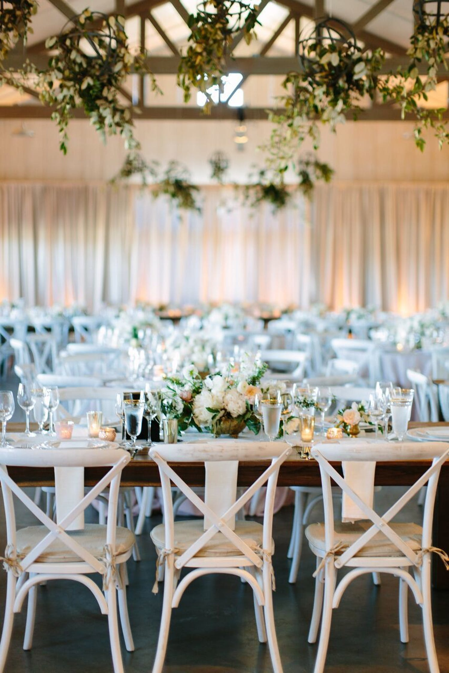 Sonoma Winery Wedding Venue Decorated in Greenery for Wedding Planned by Every Elegant Detail   PartySlate