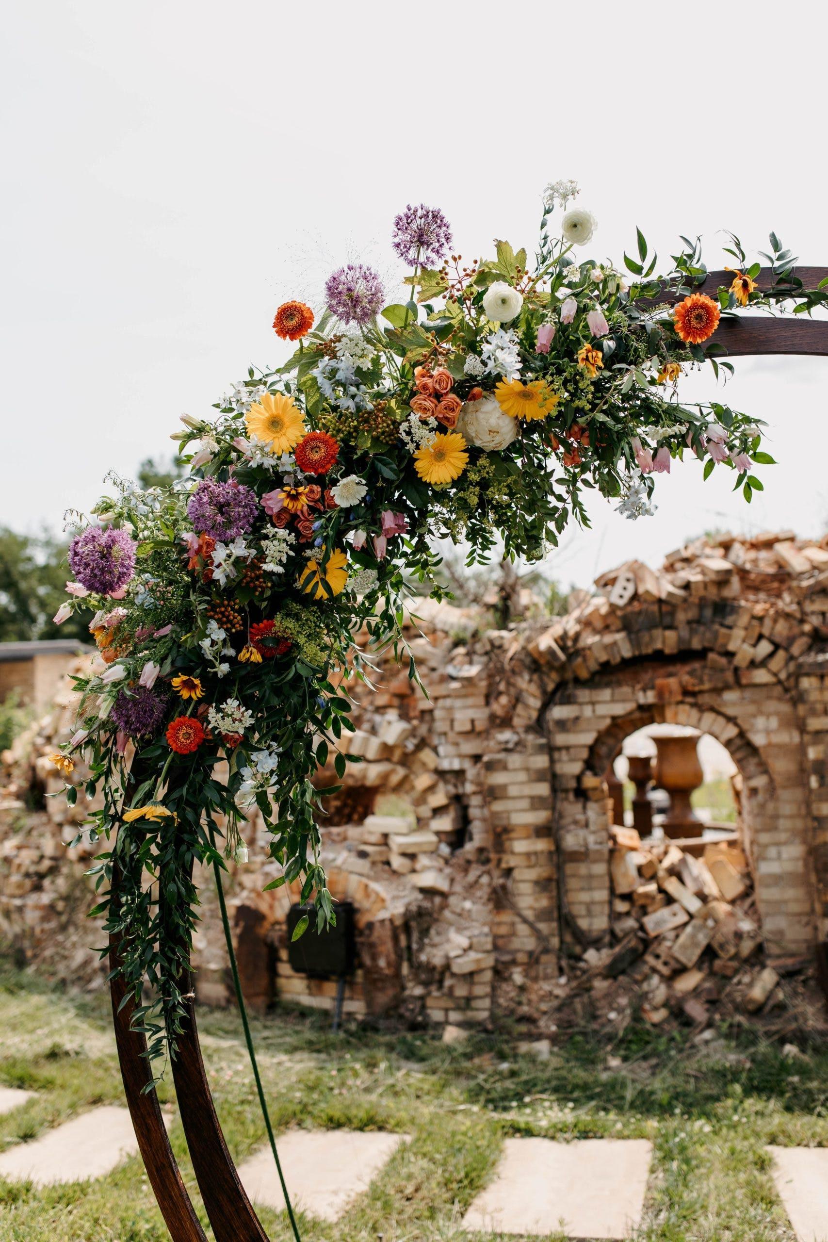 Timeless Bohemian Wedding at Camp Armoni in Tonica, Illinois