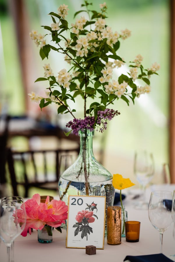Vibrant Boho Chic Outdoor Wedding at The Dorset Marble House Project in Manchester, VT