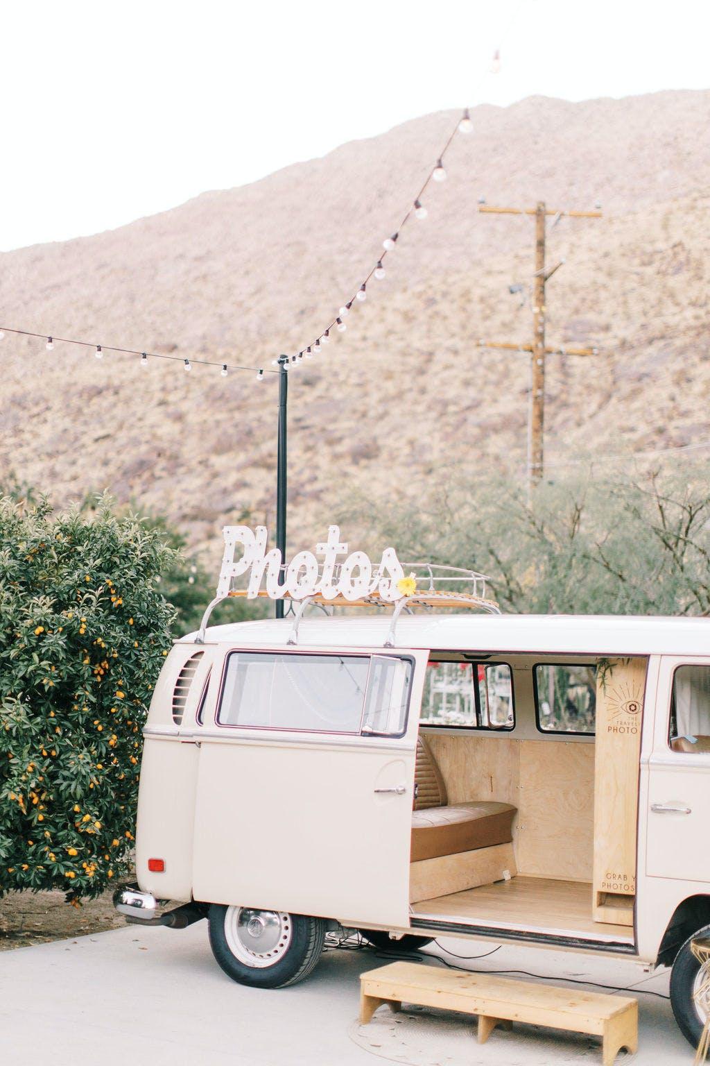 Bohemian Art Deco Wedding in Palm Springs, CA