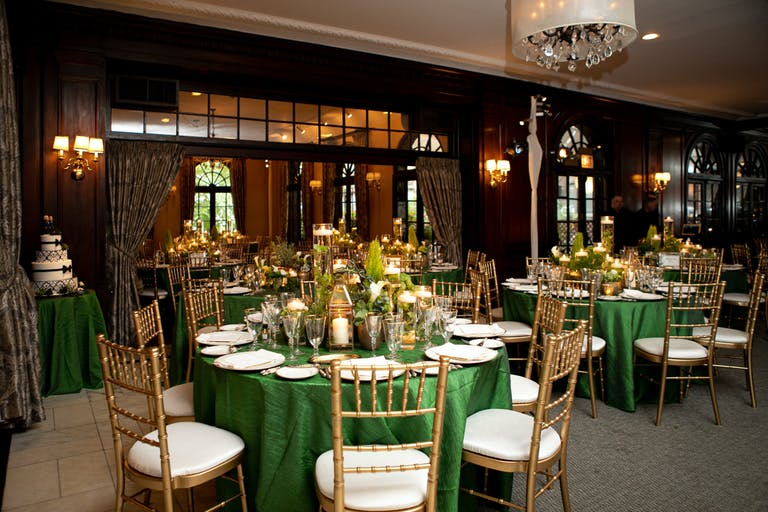 Green & Gold Wedding at Salvatore's Chicago in Chicago, IL