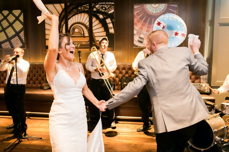 Intimate Wedding at The Roanoke in Chicago, IL   PartySlate