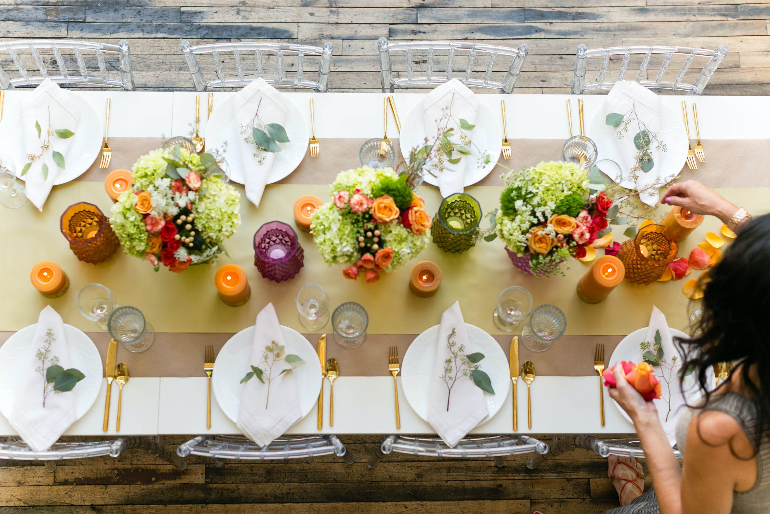 Contemporary Thanksgiving Dinner Party