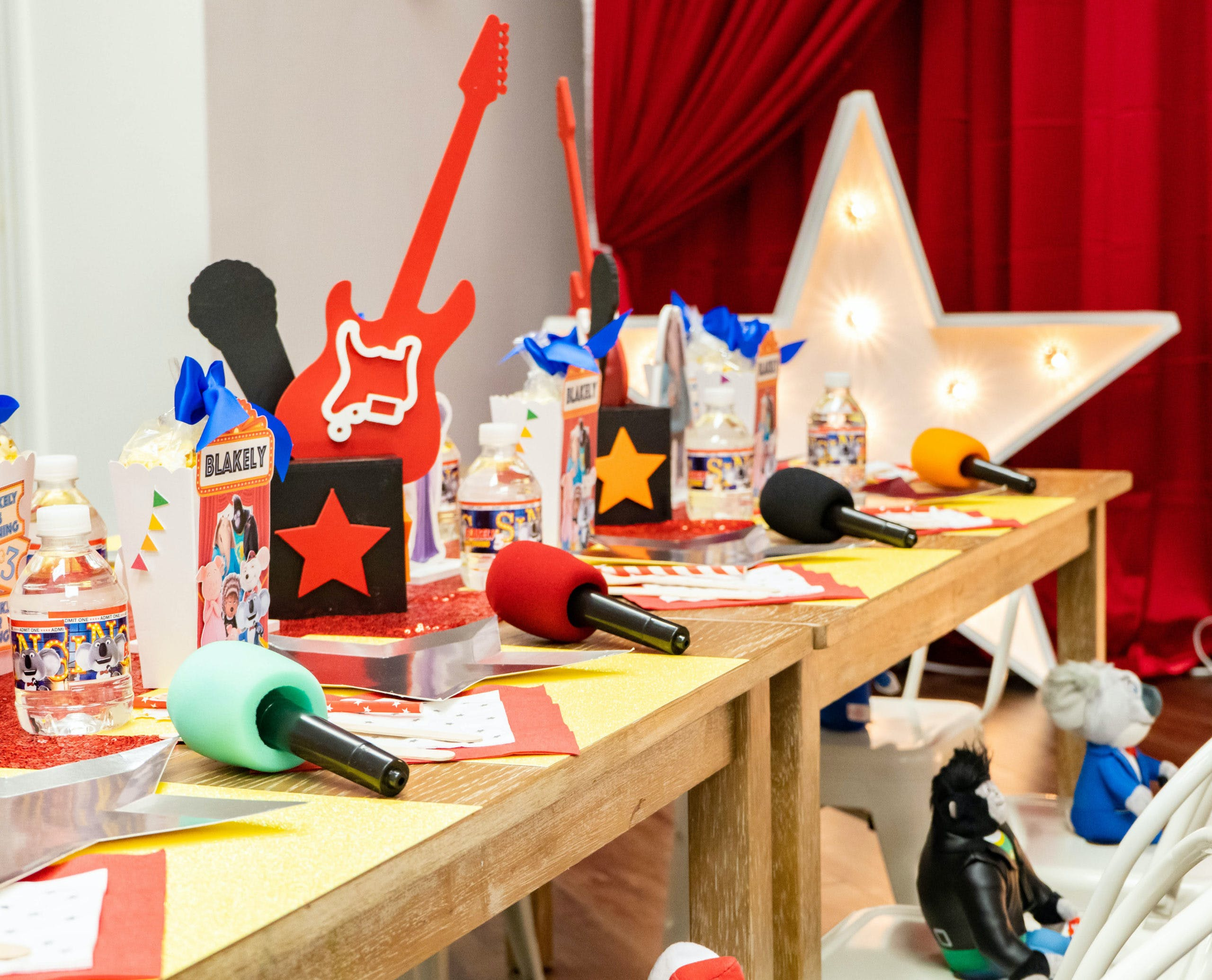 Magnificent Sing Themed 3rd Birthday Party in Boston, Massachusetts