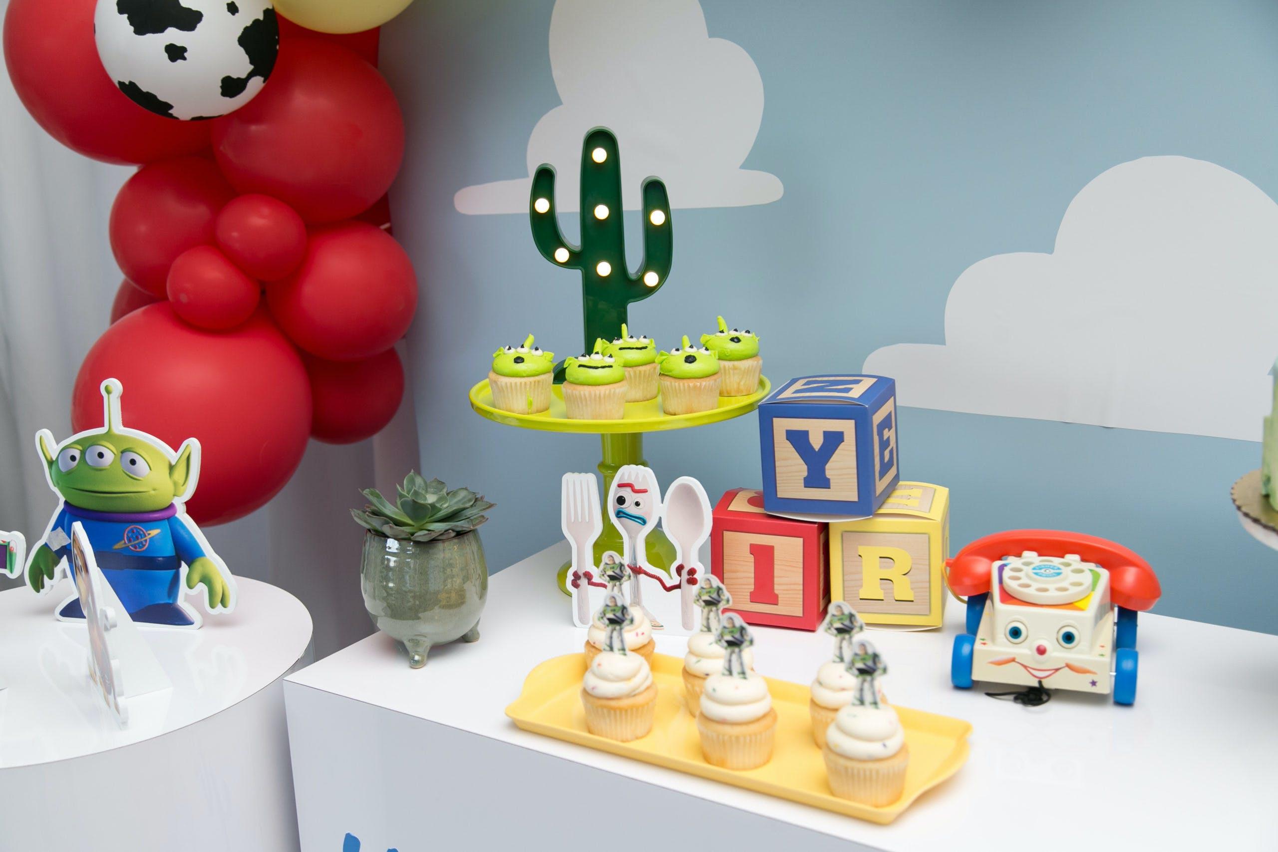 Playful Toy Story Themed 5th Birthday Celebration