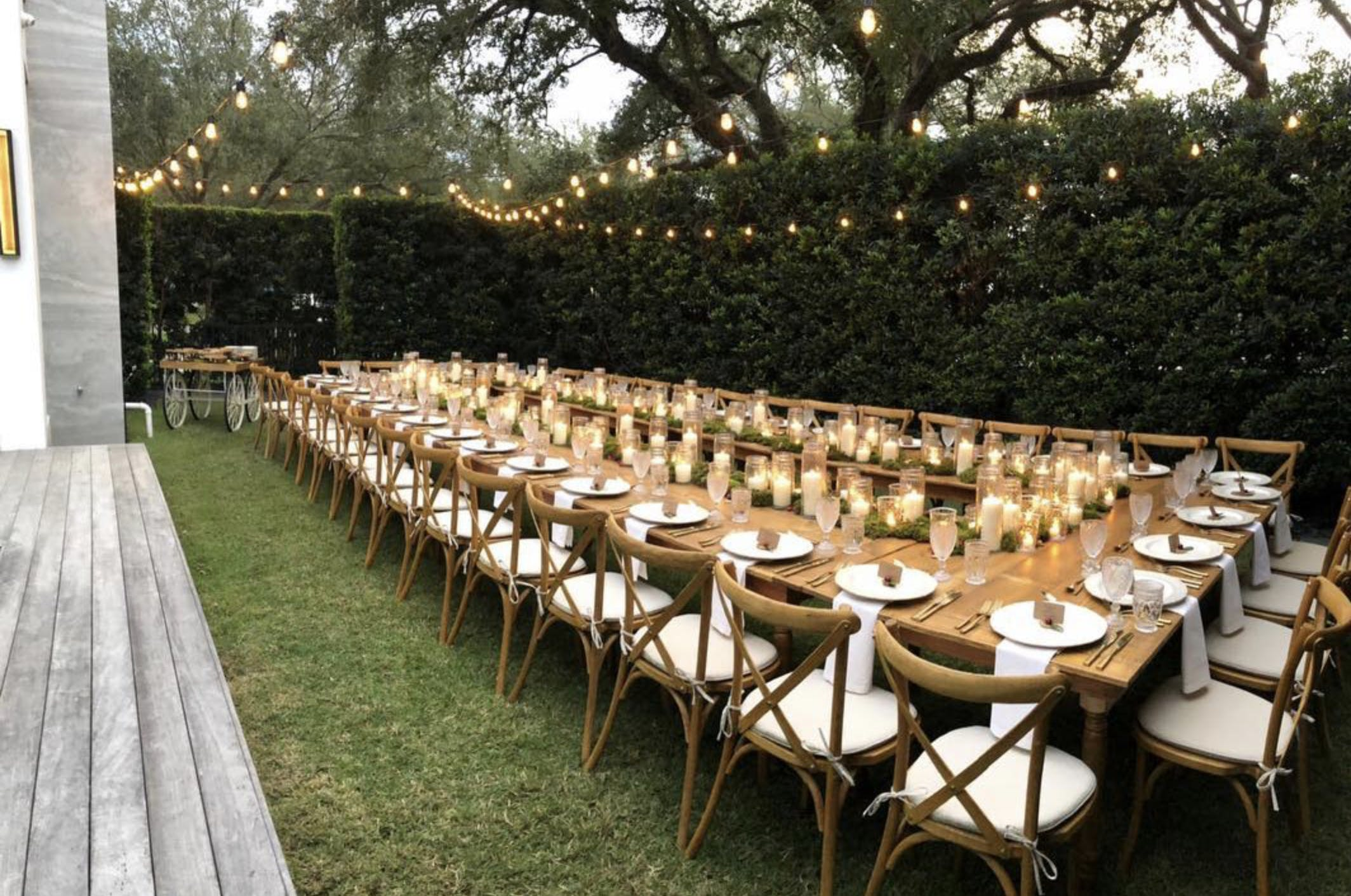 Rustic Chic Thanksgiving Dinner Party at Private Residence in Miami, FL