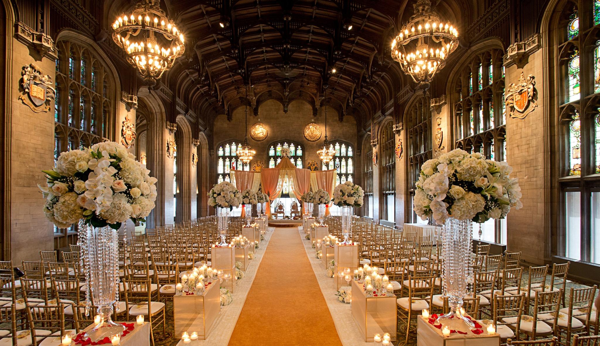 Wedding Aisle Decor.12 Chicago Wedding Aisle Ideas We Adore Partyslate